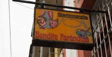 Restaurante Bendita Farándula. Santiago de Cuba